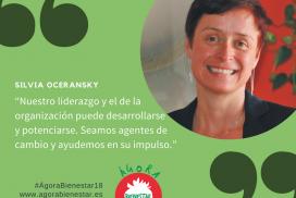 Ágora Bienestar 2018: 6 y 7 junio, Sevilla:   compartiré mesa con Felix Sanz Herrero y reflexionar sobre liderazgo sostenible en bienestar