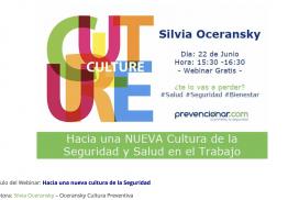 Silvia Oceransky Cultura Preventiva Nueva Cultura Prevencionar