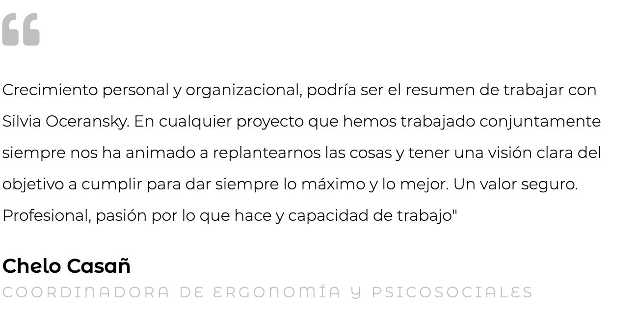 Chelo Casañ asistencia técnica Oceransky Cultura Preventiva