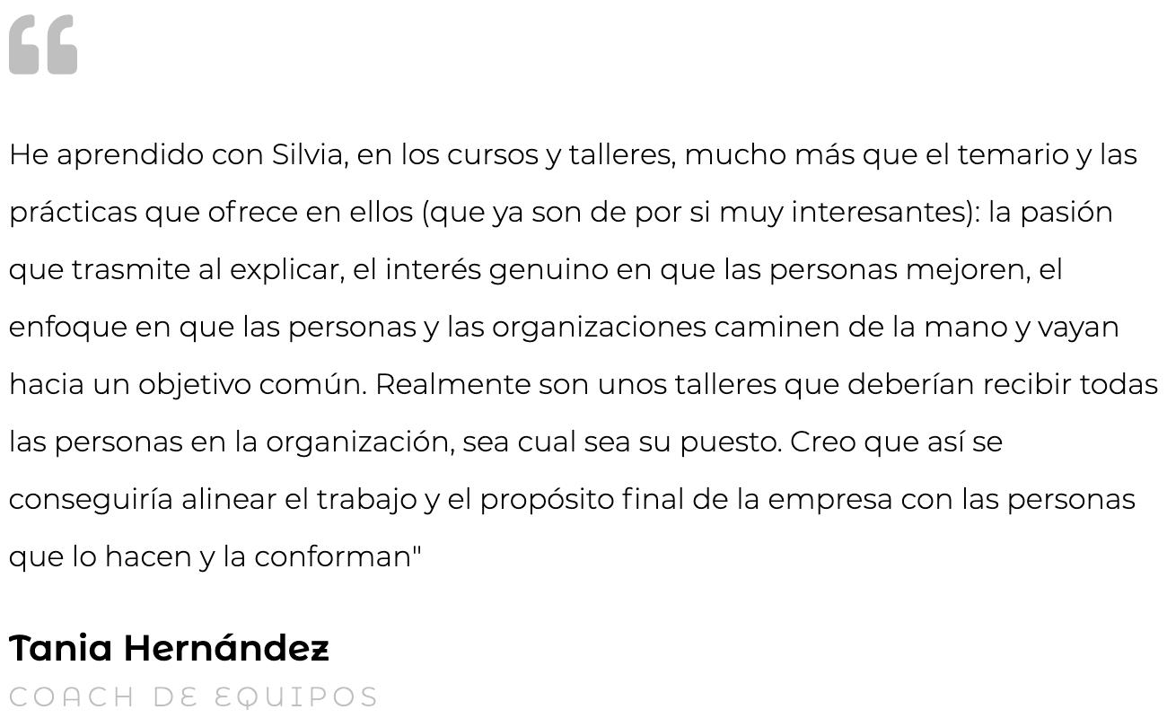 Silvia Oceransky Cultura Preventiva opiniones formacion Tania Hernández