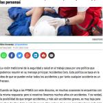Vision Zero Silvia Oceransky en Cepyme News - julio 108 - Oceransky Cultura Preventiva
